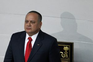Venezuelan National Assembly President Diosdado Cabello attends an assembly inauguration in Caracas