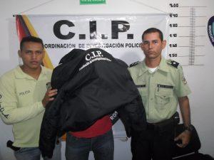 MENOR IMPLICADO CAPTURADO POR FUNCIONARIOS DE POLIROSARIO