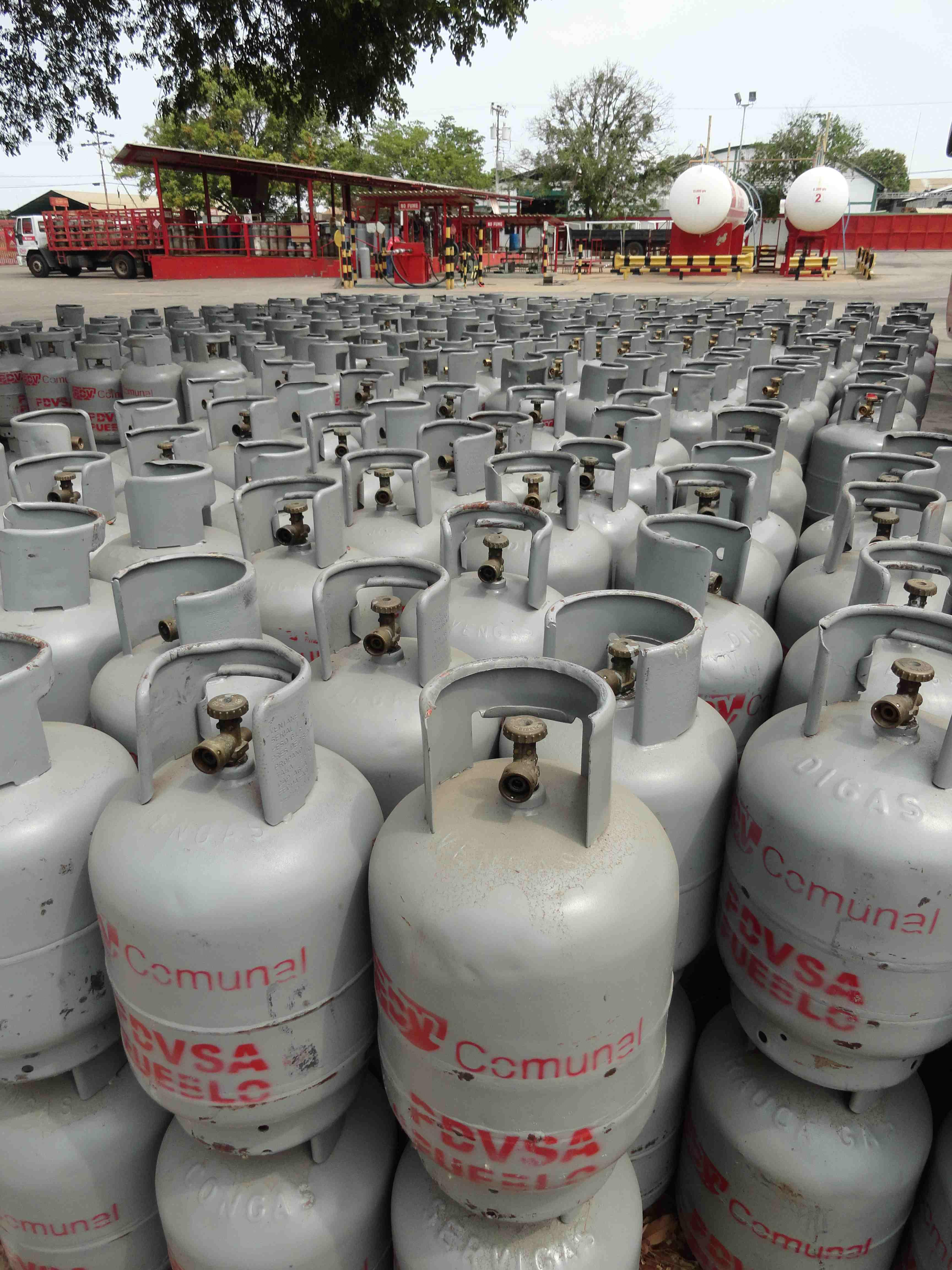 Se asegura el despacho de cilindros de 10 kgs a traves del SIDADE