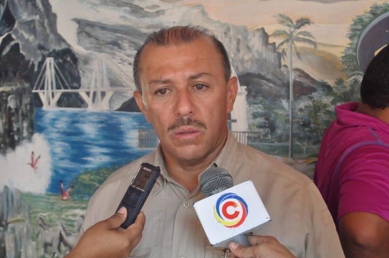 Jairo Ramírez Secretario Regional de Seguridad y Orden Público