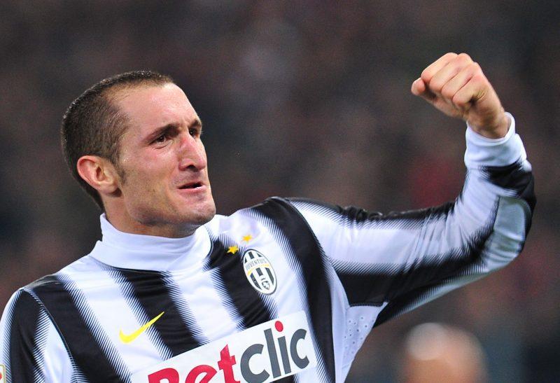 Juventus' defender Giorgio Chiellini cel