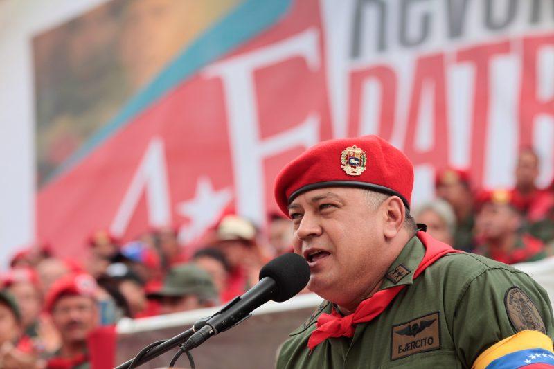 Diosdado Cabello, vicepresidente del Psuv / Foto: CanaldeNoticias