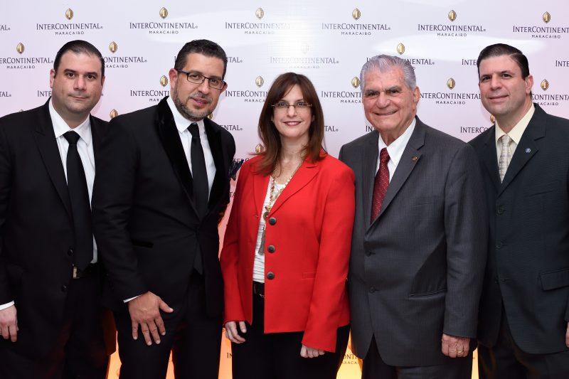 FOTO PRINCIPAL Vicente De Pinto, Nelson D'Lima, Rita De Pinto, Giuseppe De Pinto y Frank De Pinto